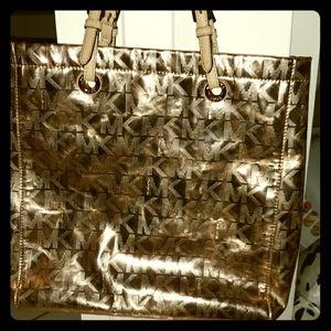 MK purse Rose Gold